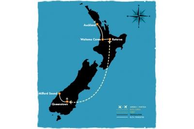 NZ Clásica - 8 días en coche