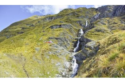 Alpes del Sur y el 'Aoraki/Mt Cook'