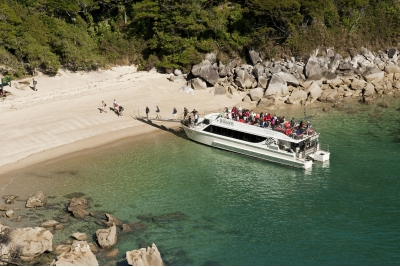 Crucero en el Abel Tasman